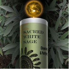 Sacred White Sage Pillar Candle