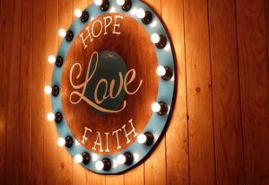 Keep Your Faith and Hope Burning